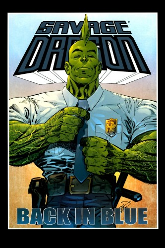 Savage Dragon 145 - Back In blue