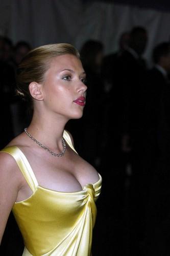 Scarlett Johansson - yellow dress