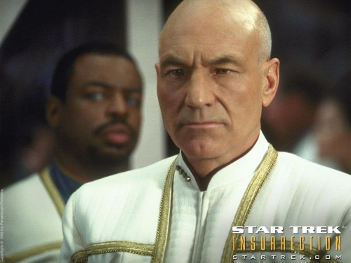 Star Trek 9 Insurrection - Dress uniforms