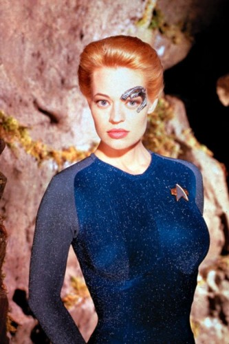 Star Trek - jeri ryan In Blue