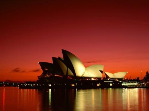 sydney opera house 500x375 Sydney Opera House Wallpaper