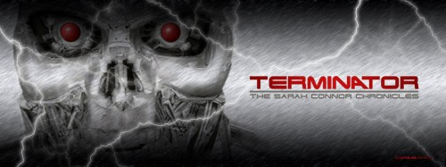 terminator the sarah connor chronicles 500x187 Terminator   The Sarah Connor Chronicles Wallpaper Television