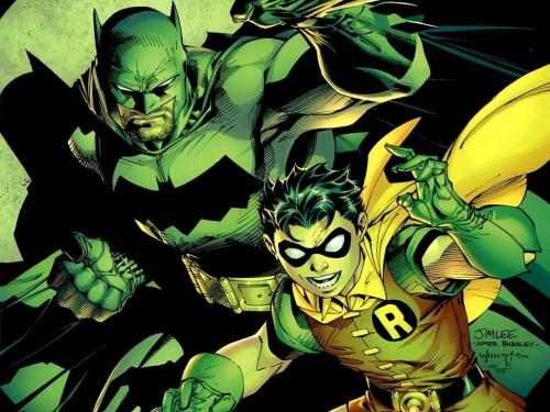 The Goddamn batman and his robin