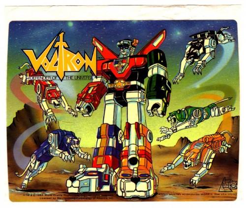 Voltron Promo Sheet