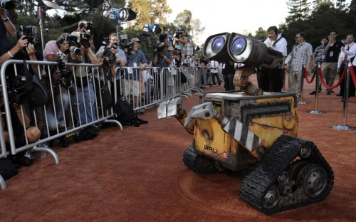Wall-E On The Red Carpet