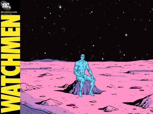 Watchmen - Dr Manhatten On Mars