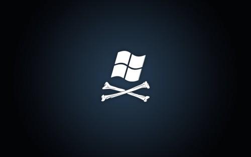 Windows Piracy Wallpaper