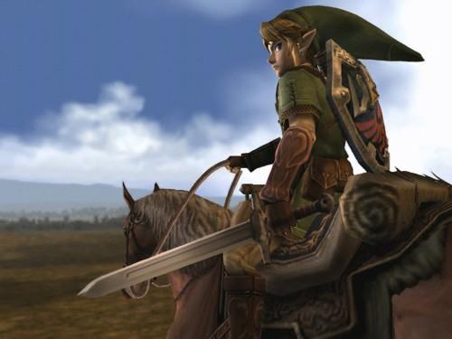 zelda on horse