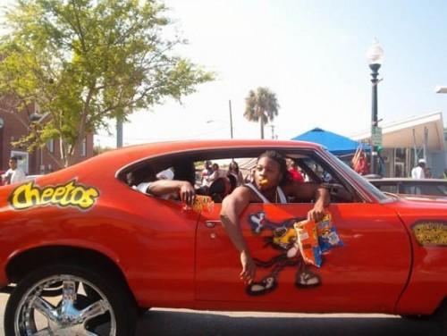 cheetos car 500x376 Cheetos Car wtf Food Cars