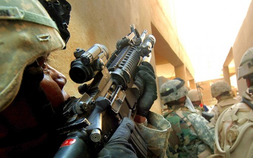 Military - Rifle Alley View