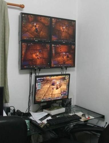 multiboxing world of warcraft 382x500 Multiboxing World of Warcraft wtf Gaming