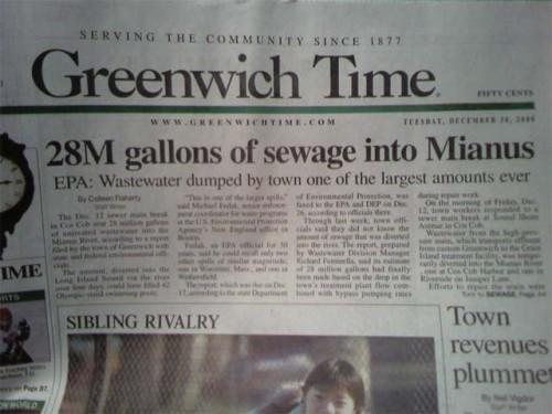 sewage in mianus 500x375 sewage in mianus wtf Humor