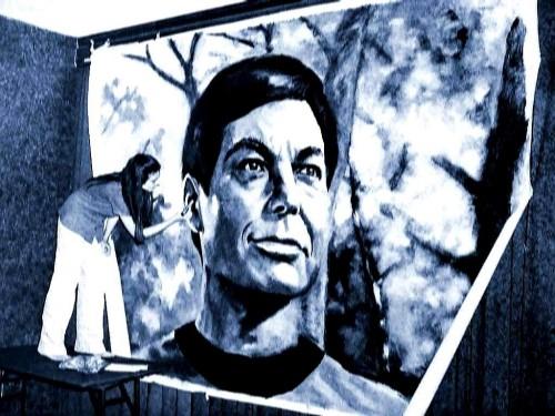 Star Trek painting