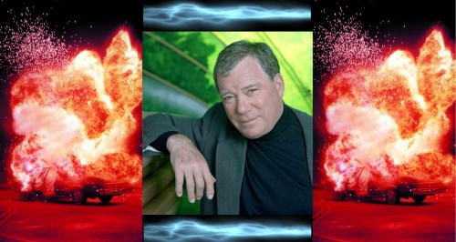 william shatner blows shit up - with his mind