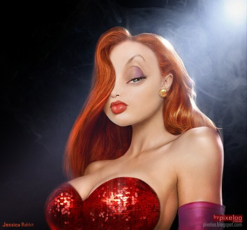2nsp2k6 500x466 Cartoon Characters Redone wtf Television Sexy Gaming
