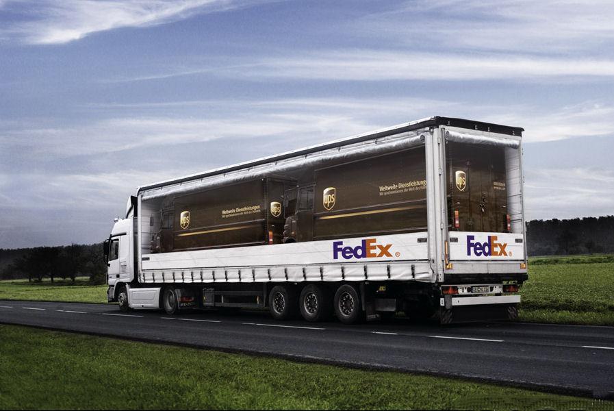 FedEx hates UPS
