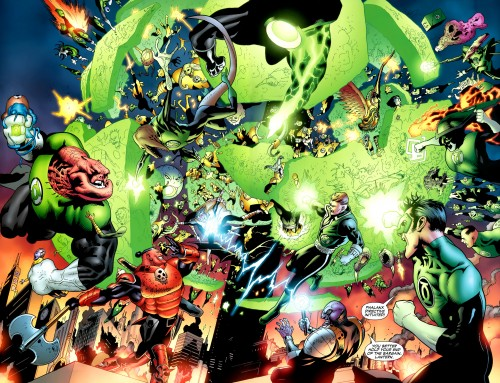 Green Lantern corps FIGHT