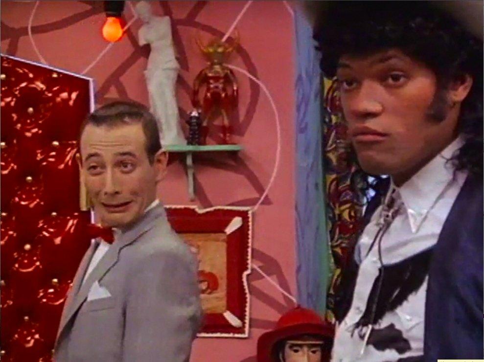 Pee Wee Herman and Morpheus
