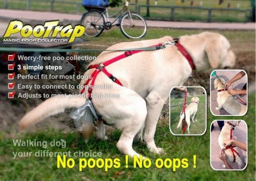 PooTrap Magic Poop Collector 500x353 PooTrap Magic Poop Collector wtf