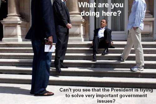 Presidential Rest Stop 500x333 Presidential Rest Stop Politics Humor barack obama