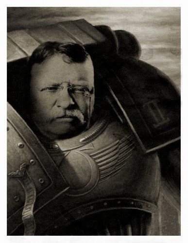 Teddy The Space marine