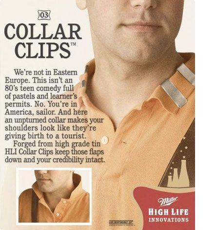 collar clips collar clips Technology Humor