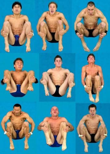diver faces