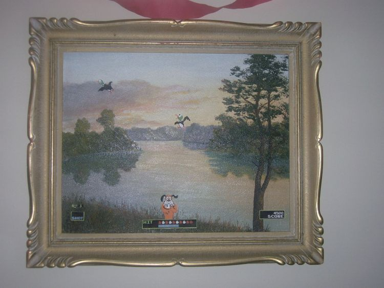 duck hunt artwork