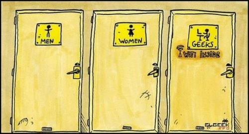 men - women - geeks