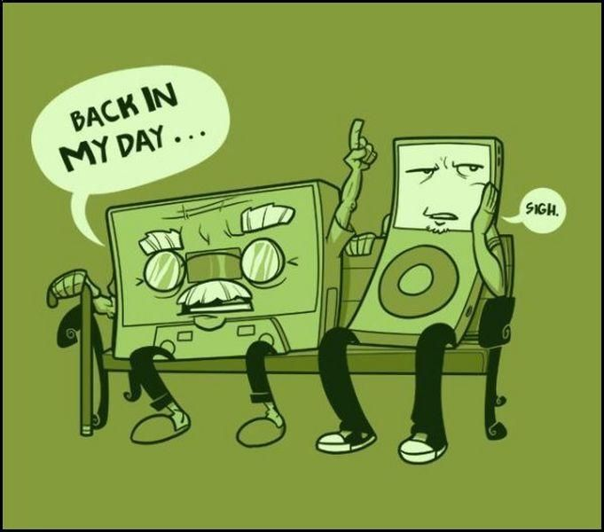 music players – back in my day