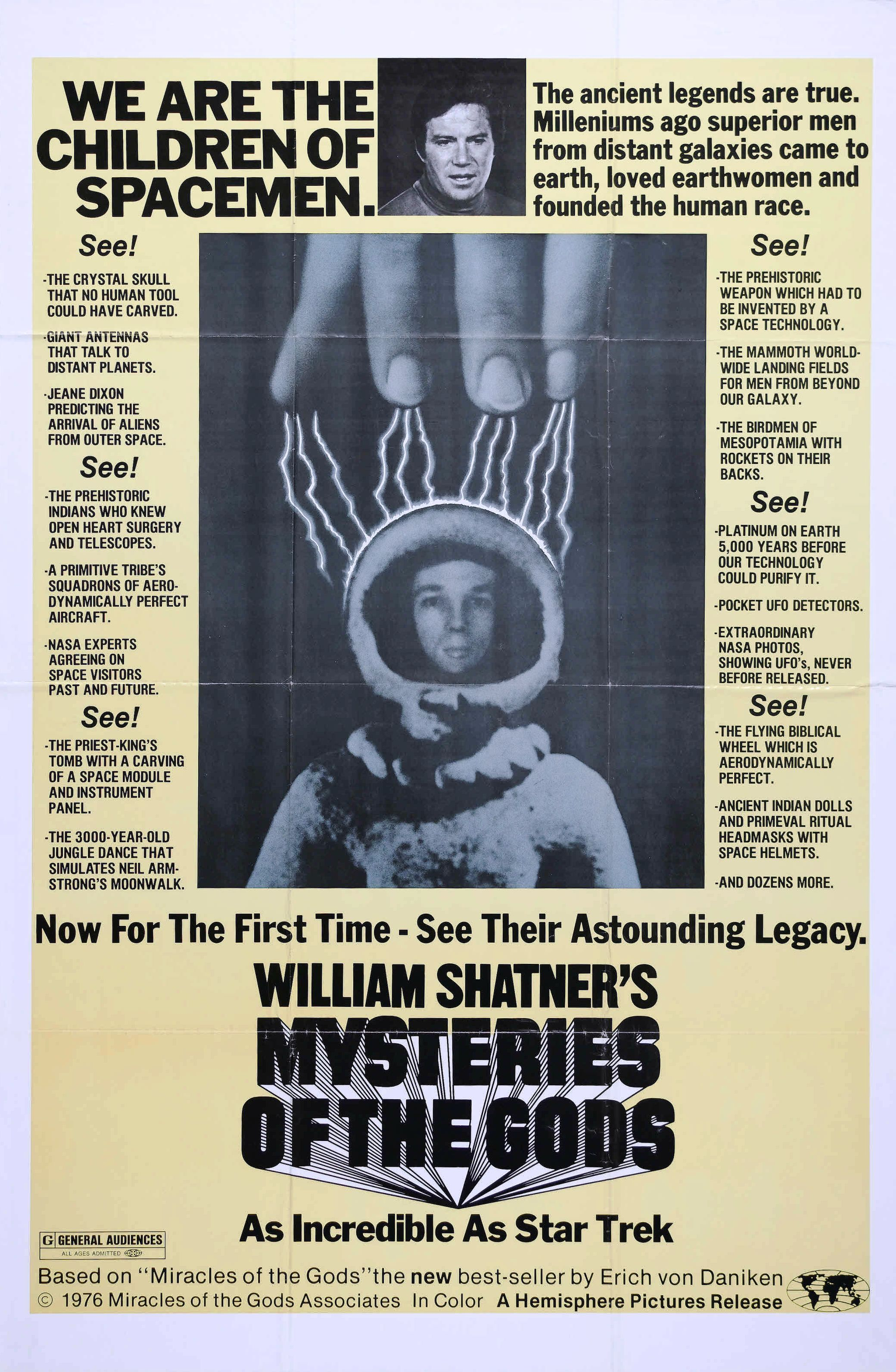 mysteries of the gods poster