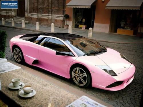 pink lambo 500x375 pink lambo wtf Cars