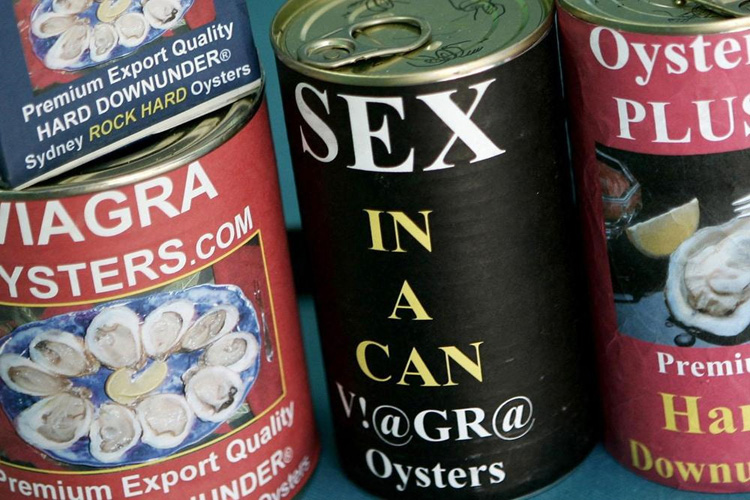sexy in a can – viagra oysters