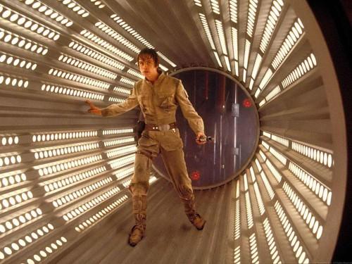 star wars - luke walks into a trap