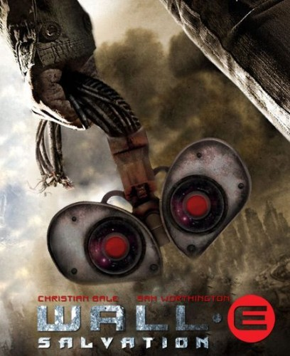 wall e salvation 408x500 wall e salvation Movies Movie posters Humor