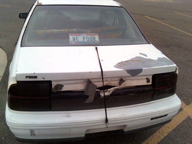we poor truck lid holder