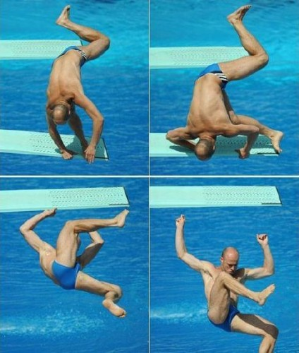 Diving Fail