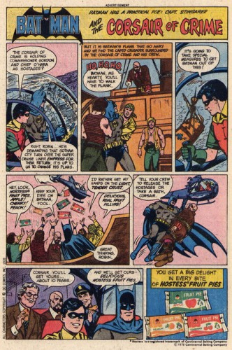 batman loves hostess fruit pies