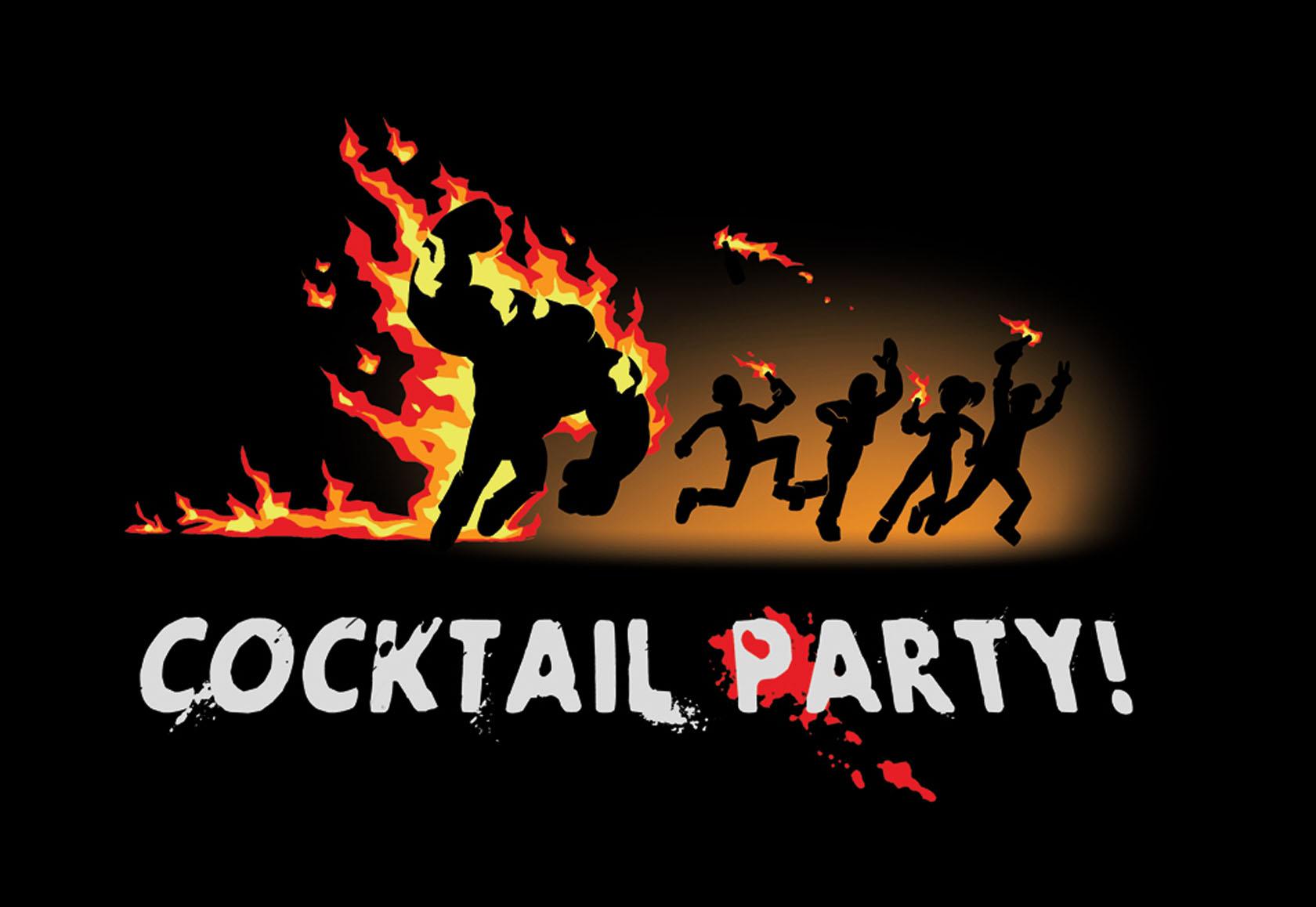 Papeis de parede Left 4 Dead Cocktail-party