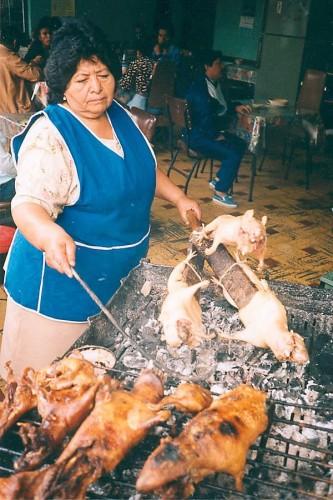 guinea pig roast