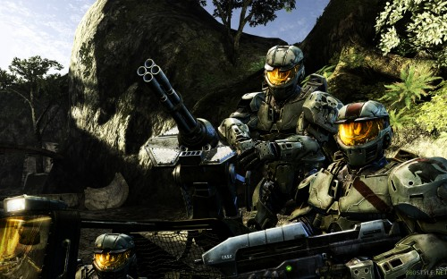 halo squad 500x312 halo squad Wallpaper Gaming Fantasy   Science Fiction