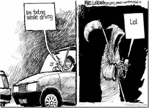 txt death Text while driving Dark Humor