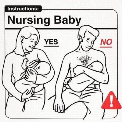10121 Baby Instructions   Dos & Donts Humor