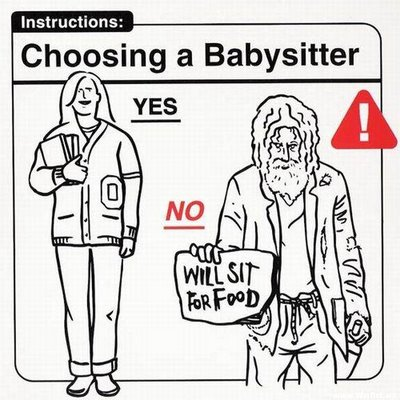 1021 Baby Instructions   Dos & Donts Humor