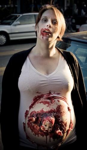 Pregnant Zombie