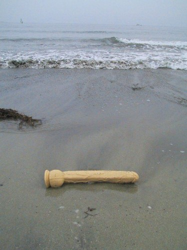 beached dildo