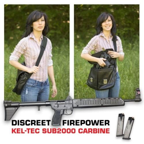 discreet firepower - kel-tec sub2000 carbine