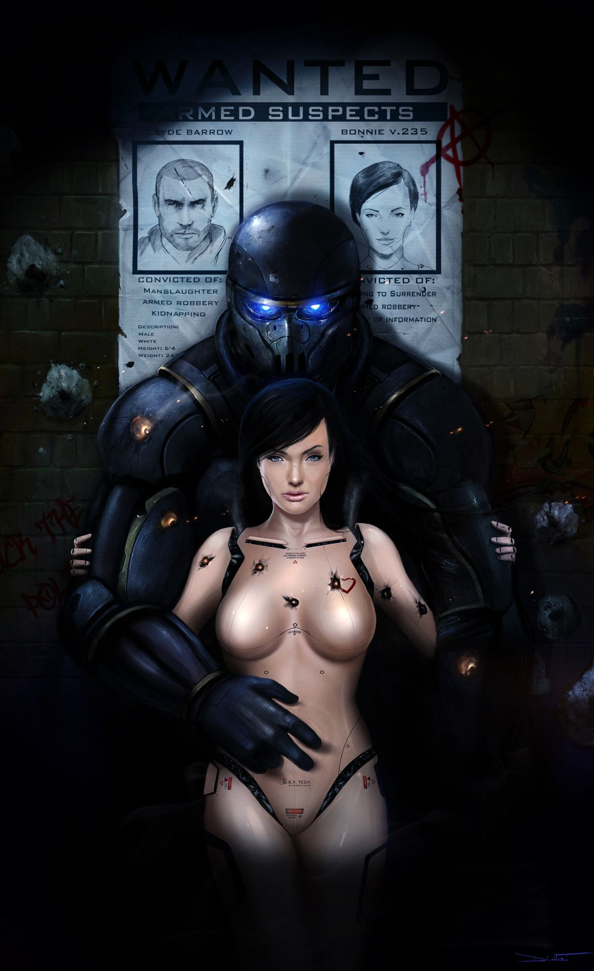 nsfw – wanted robots