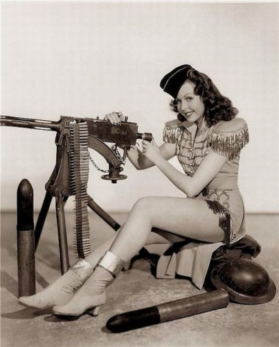 sexy retro gunner