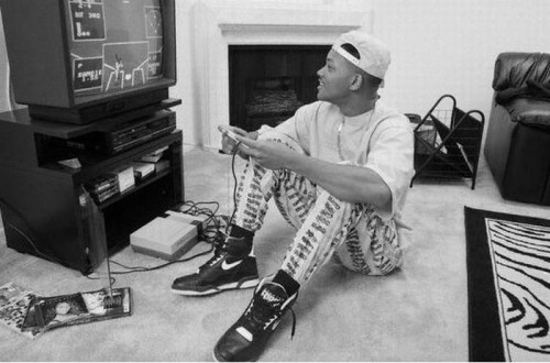 will smith plays video games